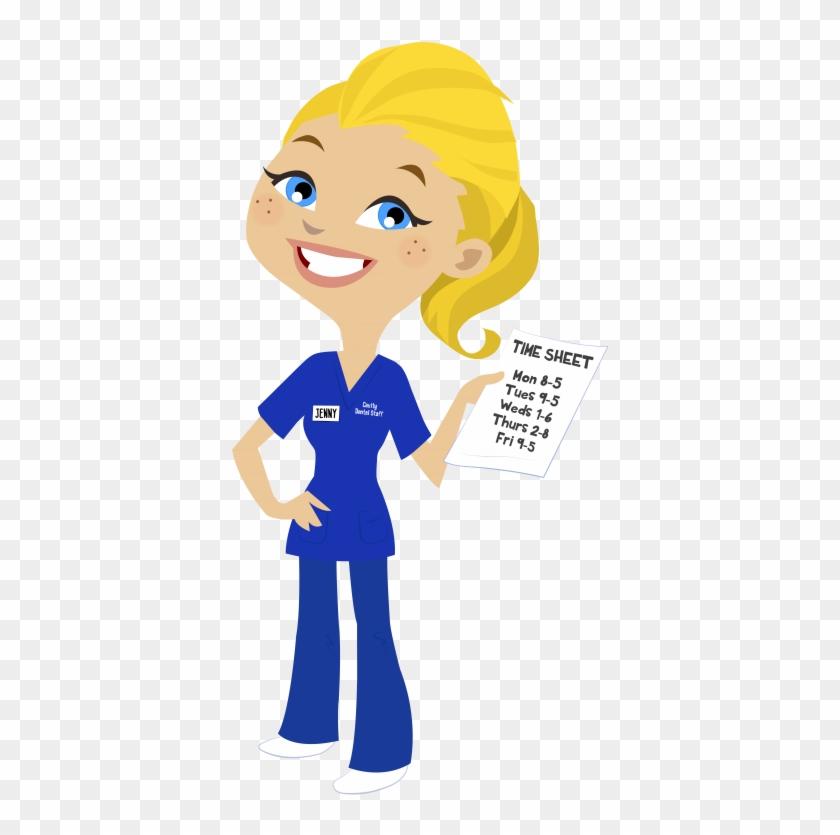 Clipart cartoon blonde clipart download Nurse Clipart Blonde Hair - Nurse Blonde Hair Cartoon, HD Png ... clipart download