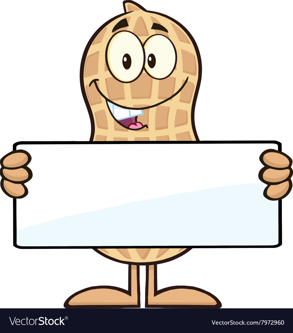 Royalty rf peanut character. Free cartoon characters clipart