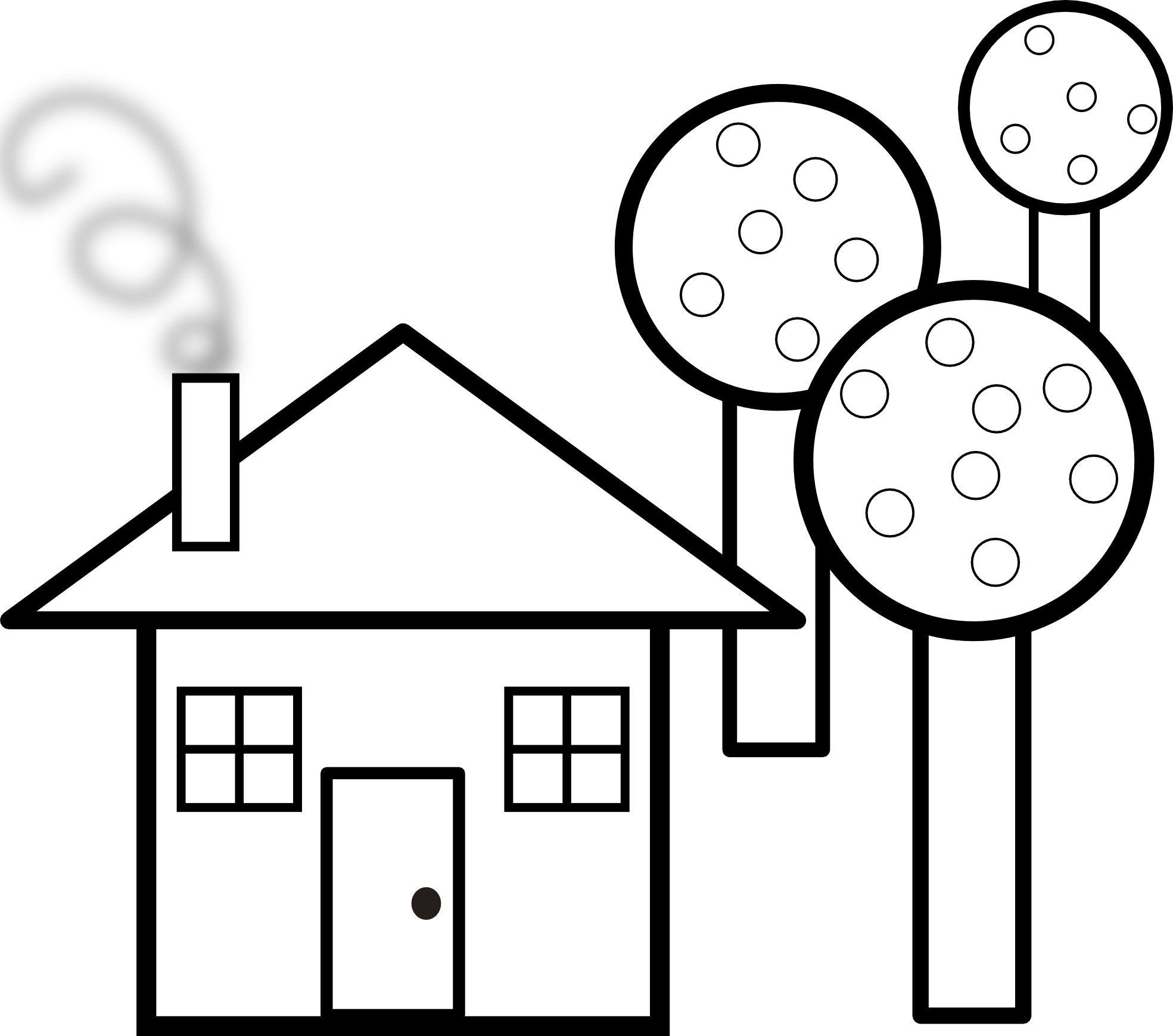 Clipart cartoon house clip transparent download Home Clipart Black And White | Free download best Home Clipart Black ... clip transparent download