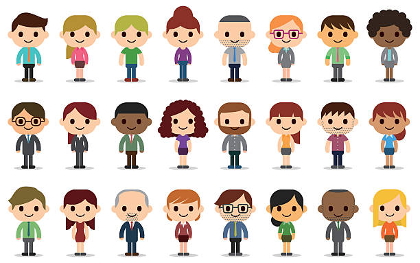 Clipart cartoon people image freeuse download Cartoon people clipart 2 » Clipart Station image freeuse download
