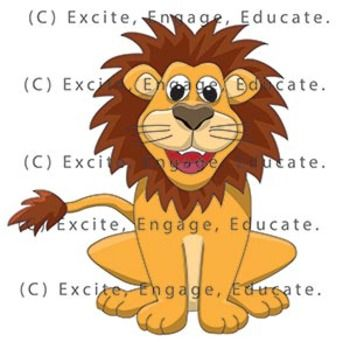 Clipart cartoon relaxed orange cat leaning on hand clipart royalty free Animal Clipart - Cartoon Lion | Lion cartoons | Cartoon lion ... clipart royalty free