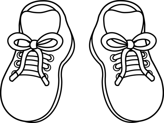 Clipart cartoon shoes clip art library Kids Sneakers | Let Them Eat Cake: Babies and Children | Shoes ... clip art library