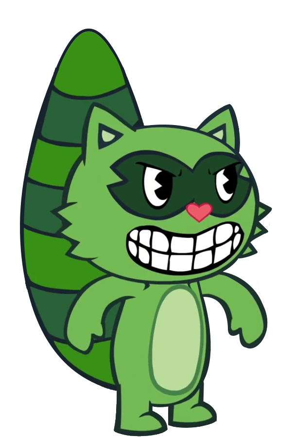 Clipart cat electrocuted vector freeuse Lifty | Happy Tree Friends Wiki | FANDOM powered by Wikia vector freeuse