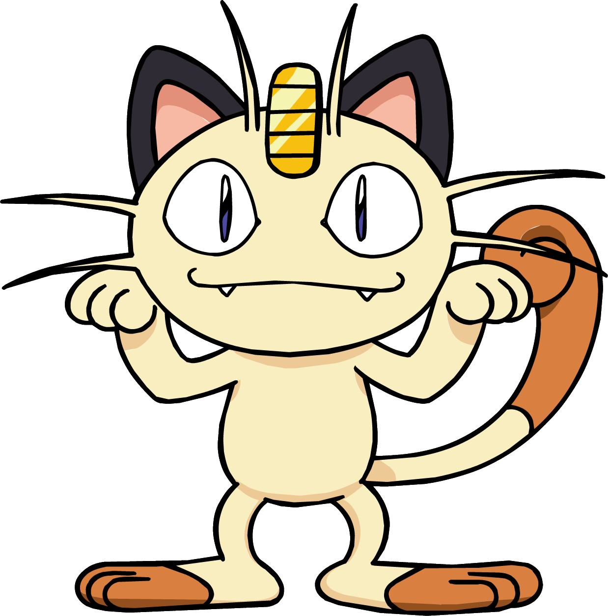 Clipart cat electrocuted vector transparent library Meowth | Death Battle Fanon Wiki | FANDOM powered by Wikia vector transparent library