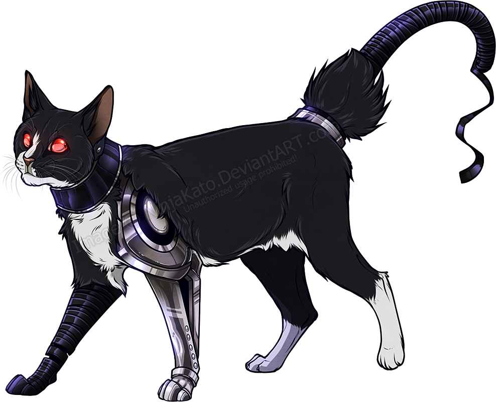 Clipart cat electrocuted png royalty free stock 8 character facts: Cyborg Ichi by NinjaKato on DeviantArt png royalty free stock