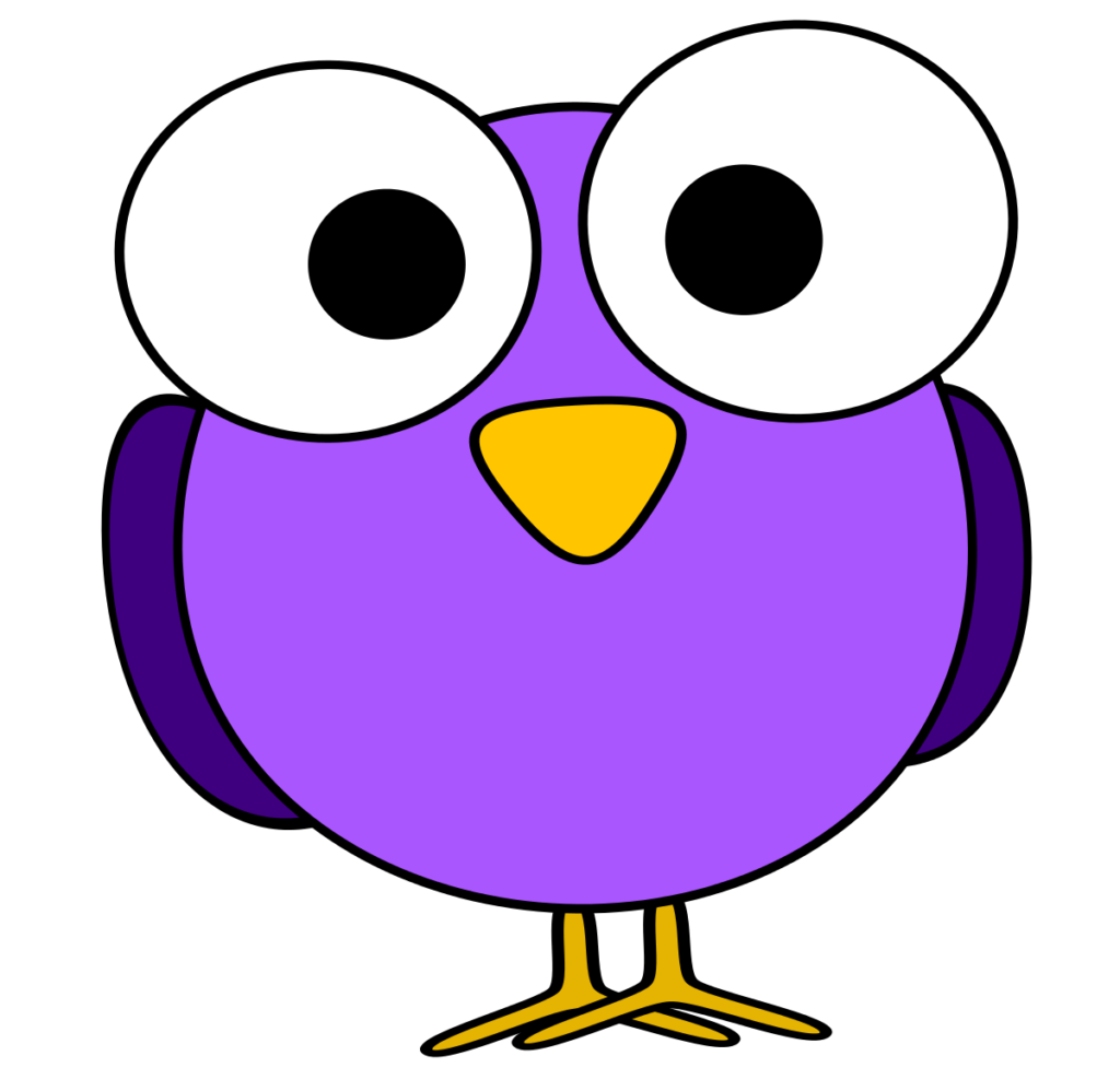 Clipart cat eyes banner free library Bird Face Clip Art Purple Googly Eye Clipart   typegoodies.me banner free library