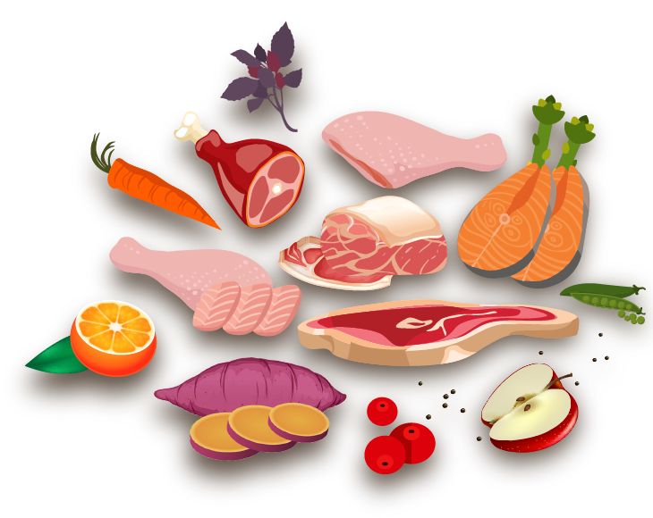 Fish food clipart png library library Goodness: Premium, Grain Free Dog Food & Cat Food In India png library library