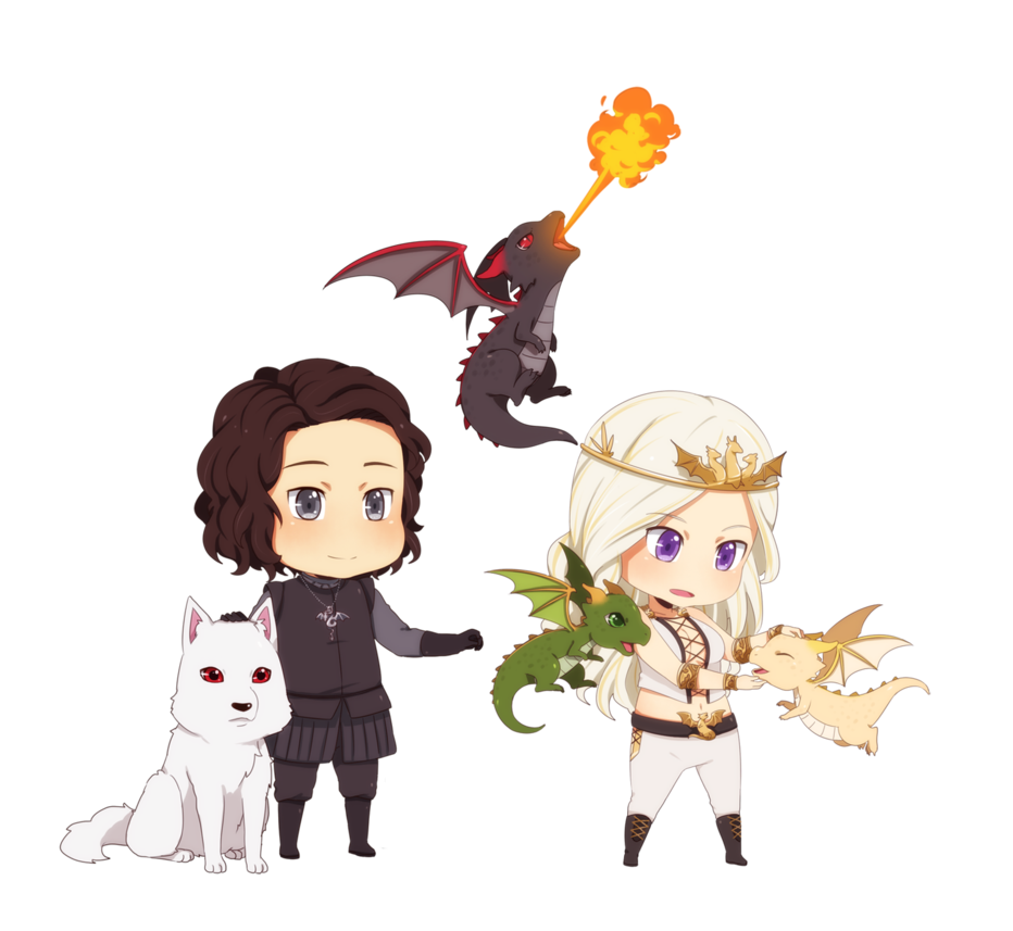 Clipart cat in snow library So it turns out, dragons are cute Jon Snow, Daenerys Targaryen ... library