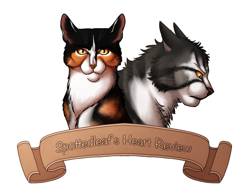 Clipart cat tangle in streamer vector Spottedleaf's Heart Review by Jayie-The-Hufflepuff on DeviantArt vector