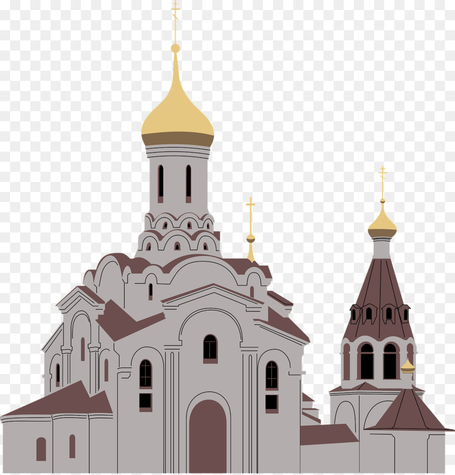 Clipart cathedral png library download Building Cartoon clipart - Church, Building, Illustration ... png library download