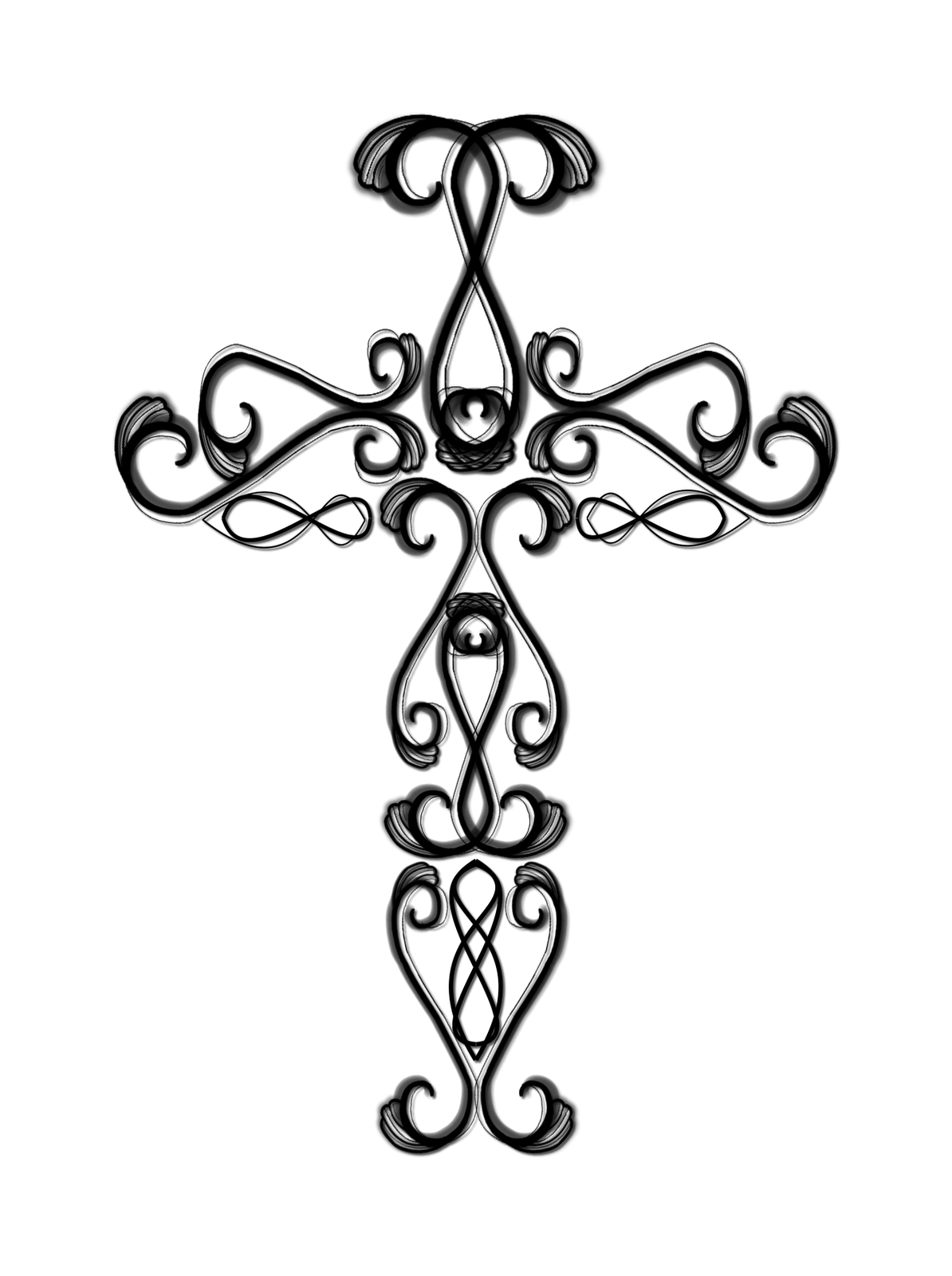 Manly cross clipart clip art transparent Catholic Cross Drawing | Clipart Panda - Free Clipart Images clip art transparent