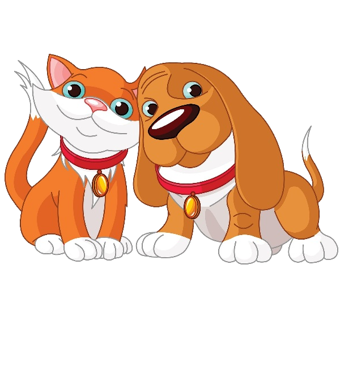 Clipart cats and dogs clip royalty free library Cat And Dog Cartoon clipart - Cat, Dog, Kitten, transparent clip art clip royalty free library