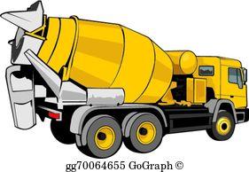 Clipart cement mixer banner transparent Concrete Mixer Clip Art - Royalty Free - GoGraph banner transparent