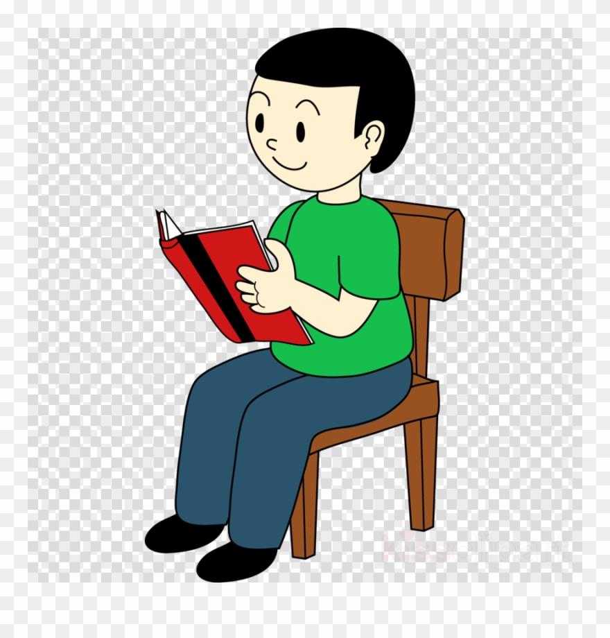 Clipart chair boy sitting jpg stock Boy Sitting On Chair Clipart Sitting Clip Art - Sat On A Chair - Png ... jpg stock