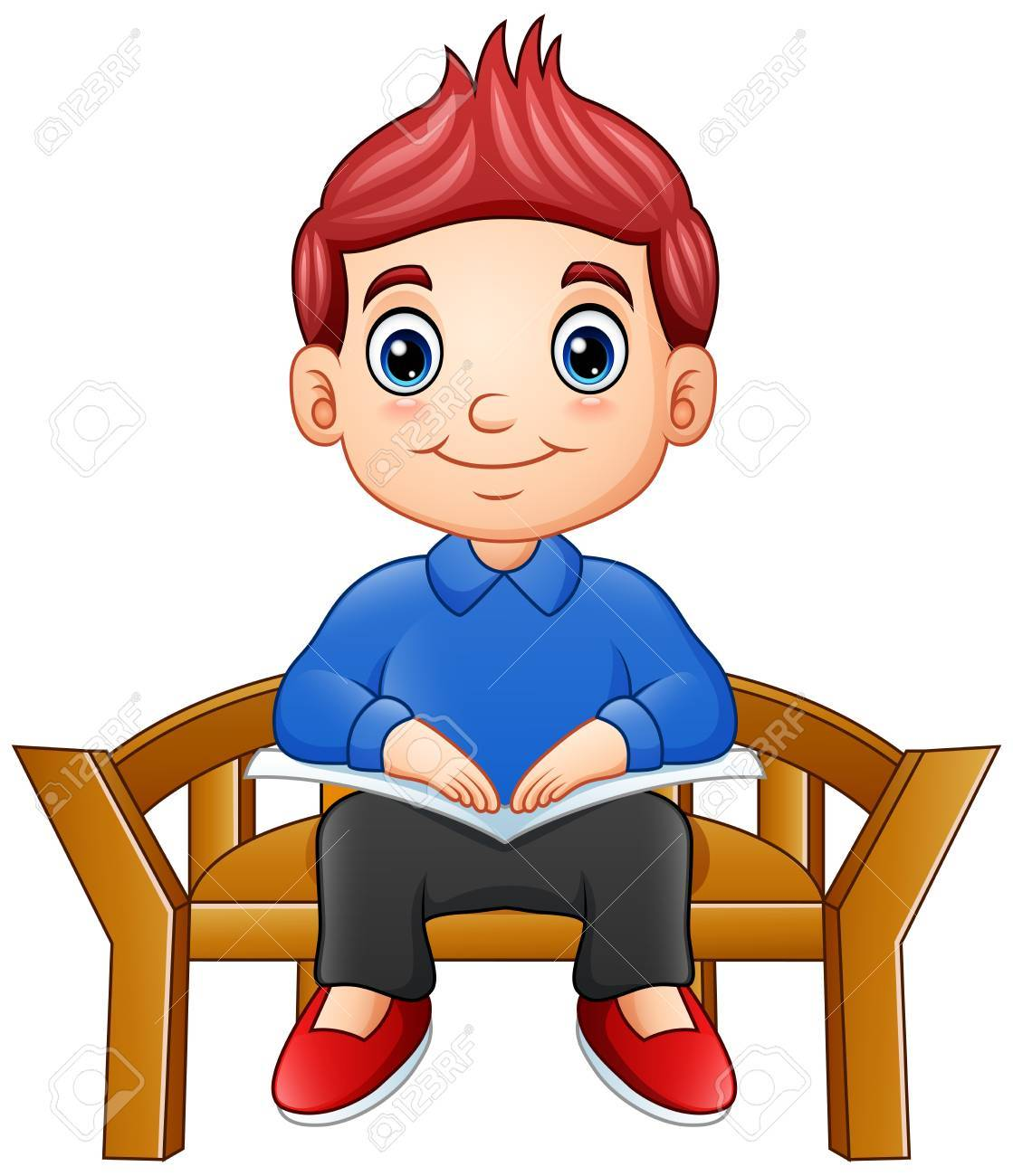 Clipart chair boy sitting banner library library Boy sitting on chair clipart 6 » Clipart Portal banner library library