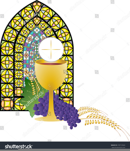 Clipart chalice and bread clip royalty free Chalice Bread Clipart | Free Images at Clker.com - vector clip art ... clip royalty free