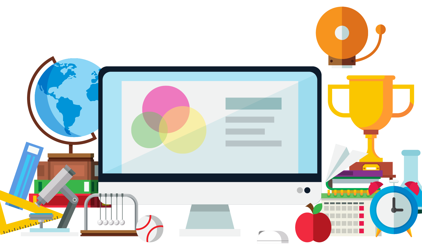 School supplies clipart free banner free stock Clip art - School supplies chalkboard background screen 1667*995 ... banner free stock