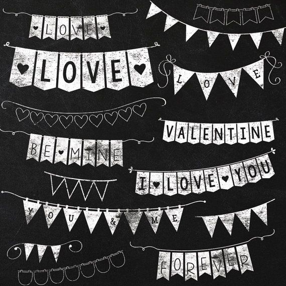 Clipart chalkboard banners clip free stock Bunting On Chalkboard Clipart - Clipart Kid clip free stock
