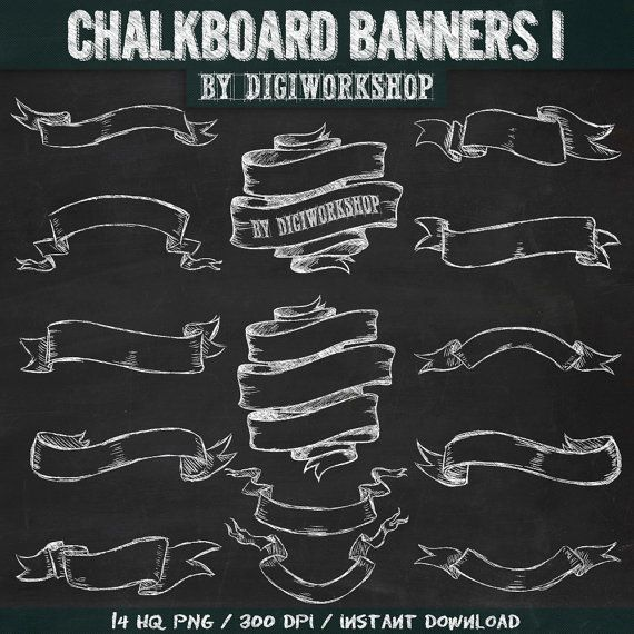 Clipart chalkboard banners picture free stock 17 Best ideas about Chalkboard Banner on Pinterest | Title page ... picture free stock