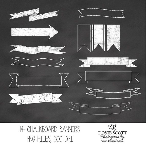 Clipart chalkboard banners jpg royalty free download 17 Best images about Chalkboard on Pinterest | Clip art, Baking ... jpg royalty free download