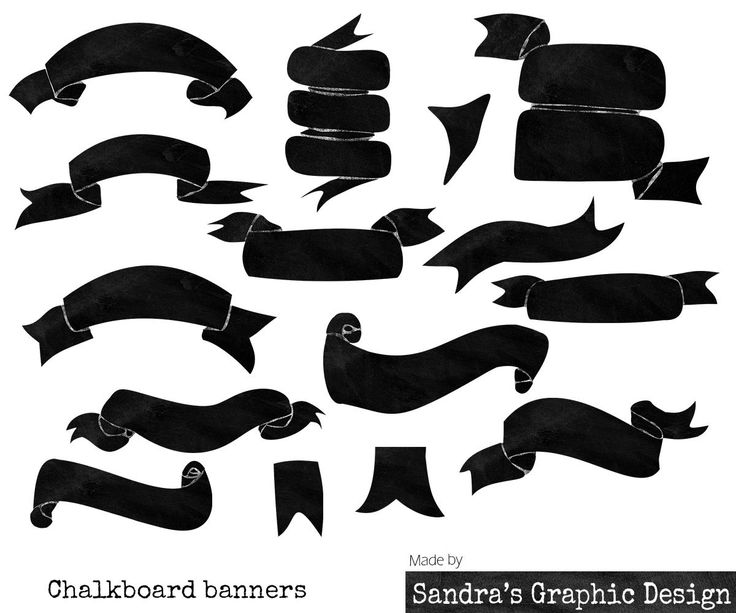 Clipart chalkboard banners banner free 17 Best ideas about Chalkboard Banner on Pinterest | Title page ... banner free