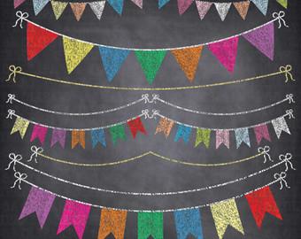 Clipart chalkboard banners picture transparent library Chalkboard clipart | Etsy picture transparent library