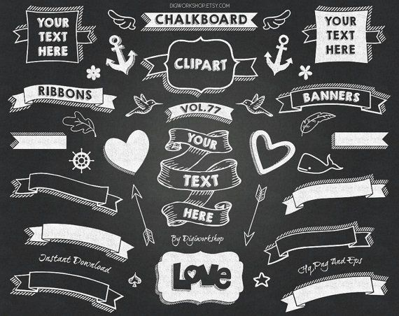 Clipart chalkboard banners svg transparent stock 17 best ideas about Chalkboard Banner on Pinterest | Title page ... svg transparent stock