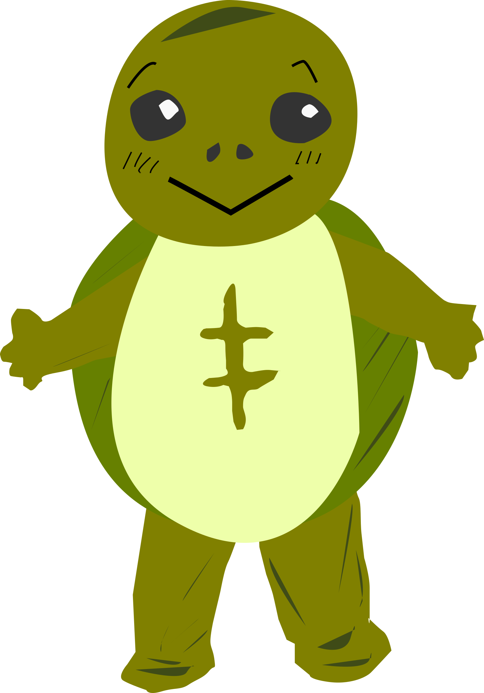Clipart character graphic free Clipart - turtle character graphic free