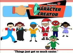 Clipart character creator png transparent library 1000+ images about Clip art on Pinterest | Character Creator, Ross ... png transparent library