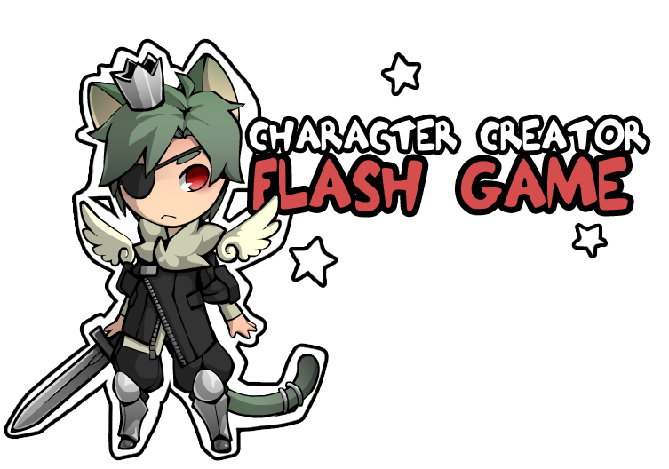 Clipart character creator banner library Character Creator [flash game] by Twai on DeviantArt banner library