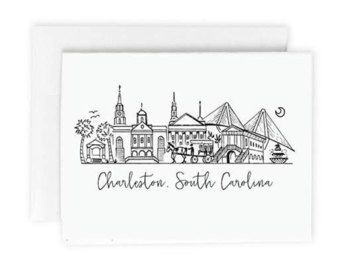 Clipart charstone image transparent library Skyline clipart charleston #746 | Silhouette Saturday | Skyline ... image transparent library
