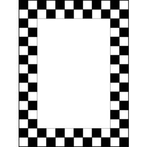 Clipart checkerboard clip art black and white library Checkerboard Border Clipart | Free download best Checkerboard Border ... clip art black and white library