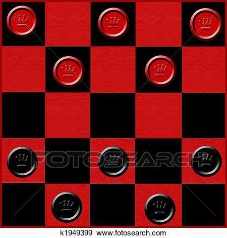 Checker board clipart graphic Checkers clipart 6 » Clipart Portal graphic