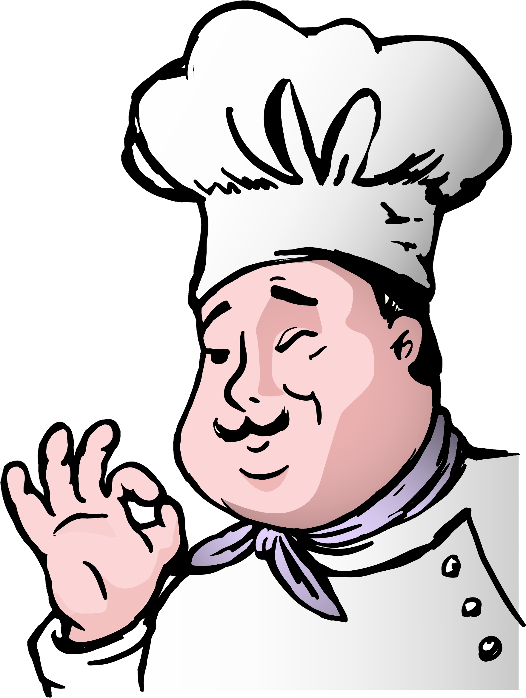 Clipart chef graphic black and white Clipart - Chef graphic black and white