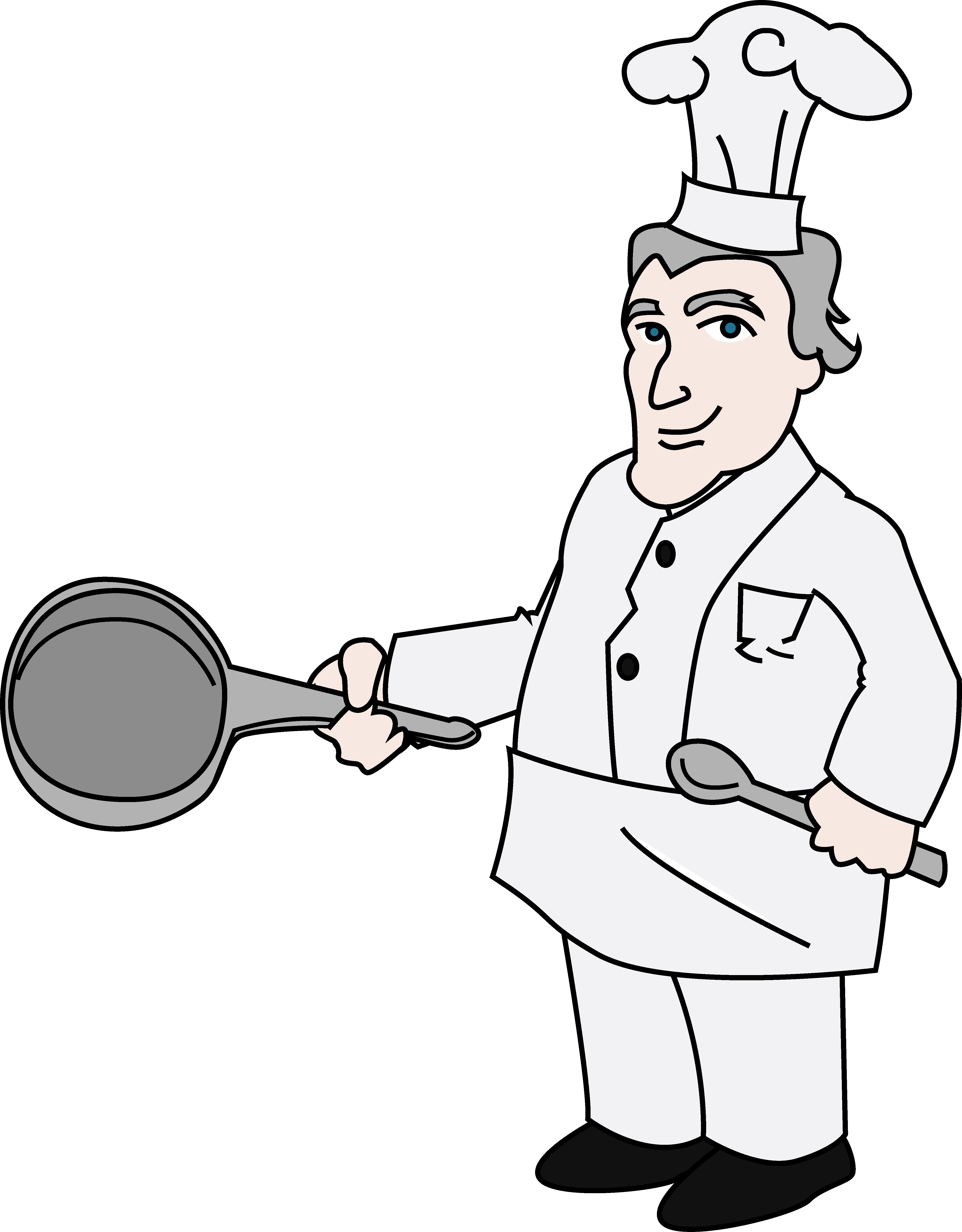 Clipart chef clip art royalty free library Chef Clipart Illustration - Free Clip Art clip art royalty free library
