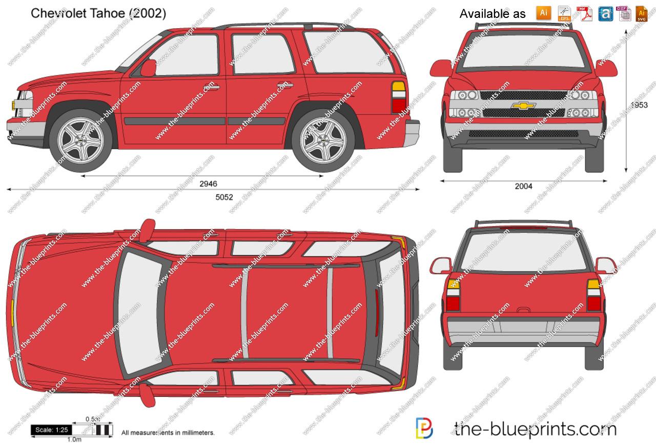 Clipart chevy tahoe truck clip art Chevrolet Tahoe vector drawing clip art