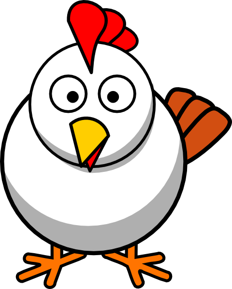 Clipart chicken free svg library download Image result for clipart chicken | Rock painting | Cartoon chicken ... svg library download