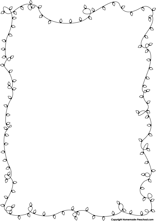 Clipart child and light black and white picture transparent download String of christmas lights black and white clipart clipart kid 3 ... picture transparent download