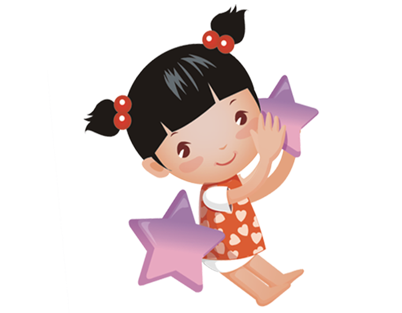 Clipart child holding star graphic freeuse Child Kindergarten Cartoon National Primary School - Girl holding ... graphic freeuse