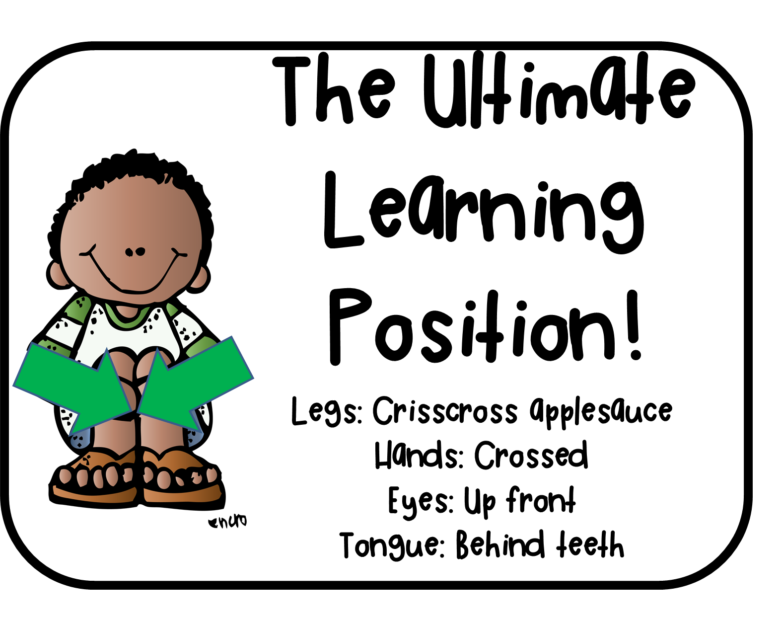 Sitting criss cross applesauce clipart clipart Welcome to The Schroeder Page!: Brain Gym and The Ultimate Learning ... clipart