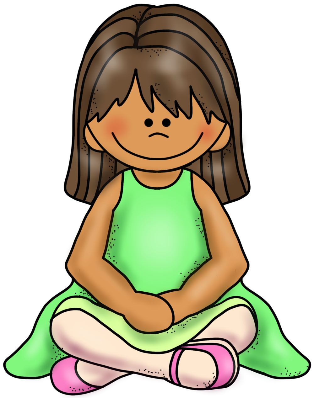 Clipart child sitting criss cross image freeuse library What's up with W-Sitting? — Buckle My Shoe image freeuse library
