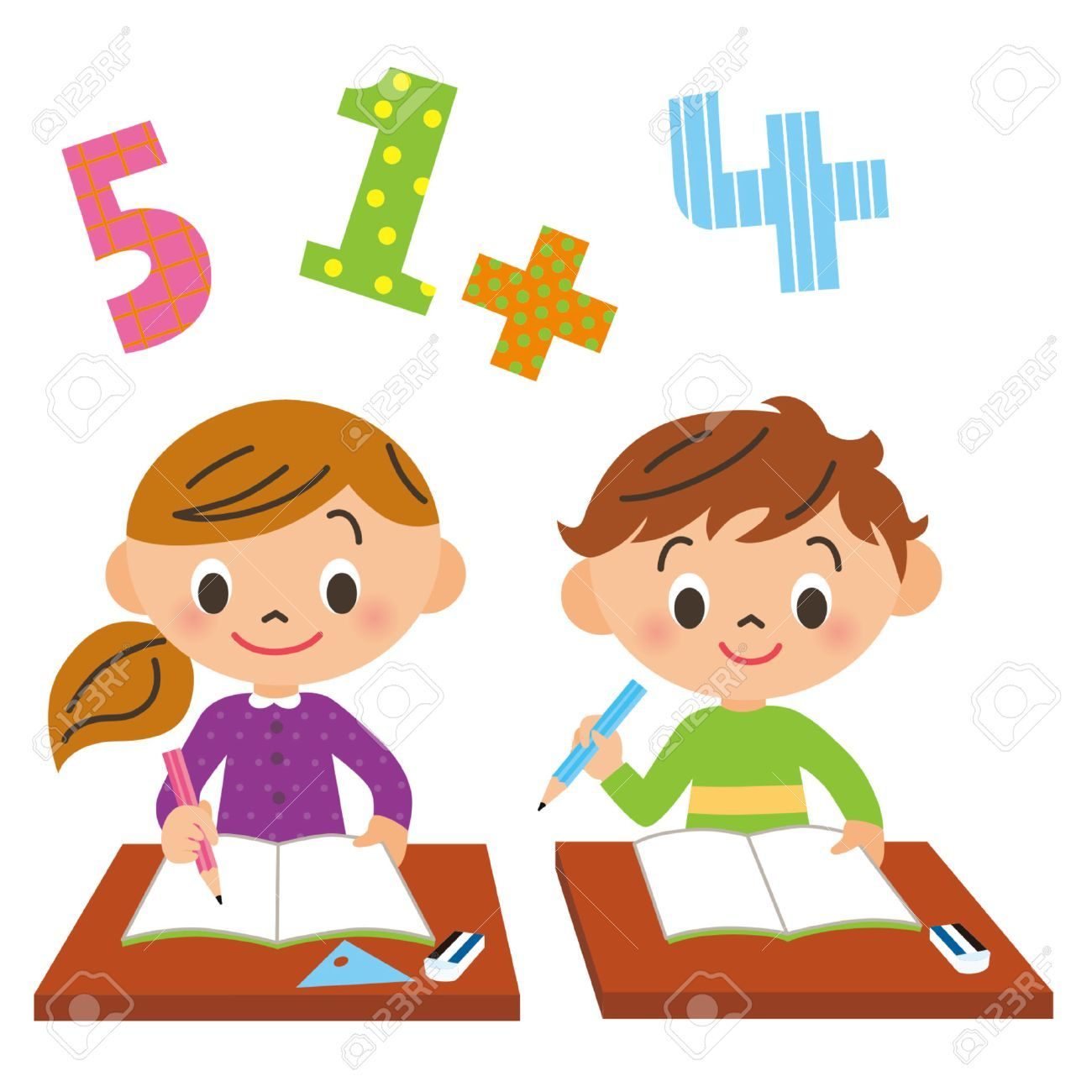 Clipart child studying picture library stock Child studying at school clipart » Clipart Portal picture library stock