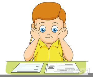 Clipart child studying vector library stock Studying Boy Clipart   Free Images at Clker.com - vector clip art ... vector library stock