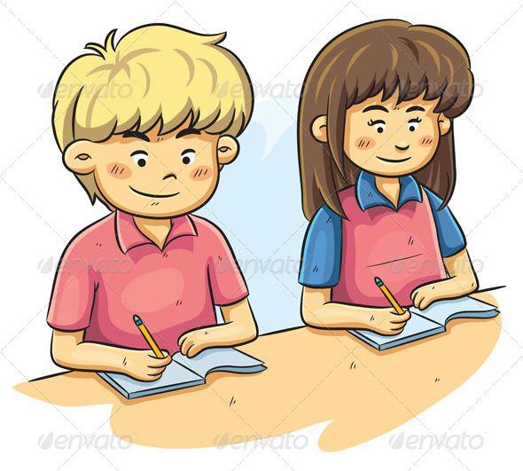 Clipart child studying svg transparent download Kids Studying   Reading   Kids study, Kids cartoon characters ... svg transparent download