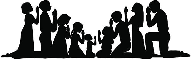 Clipart children group christian black and white picture Group Prayer Christian | Free download best Group Prayer Christian ... picture