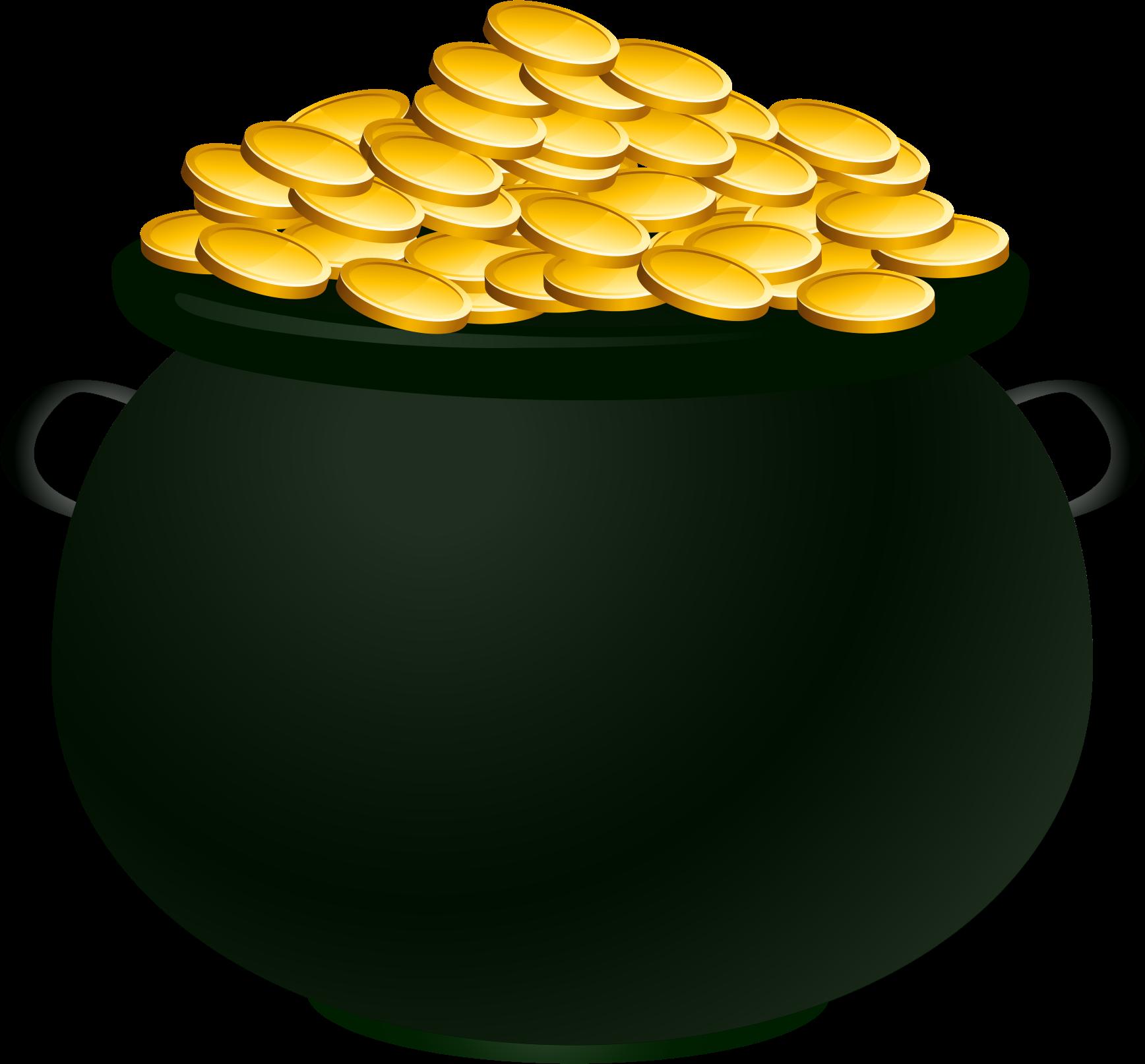 Clipart children pot graphic royalty free Pot of gold clipart clipart kid image #42127 graphic royalty free