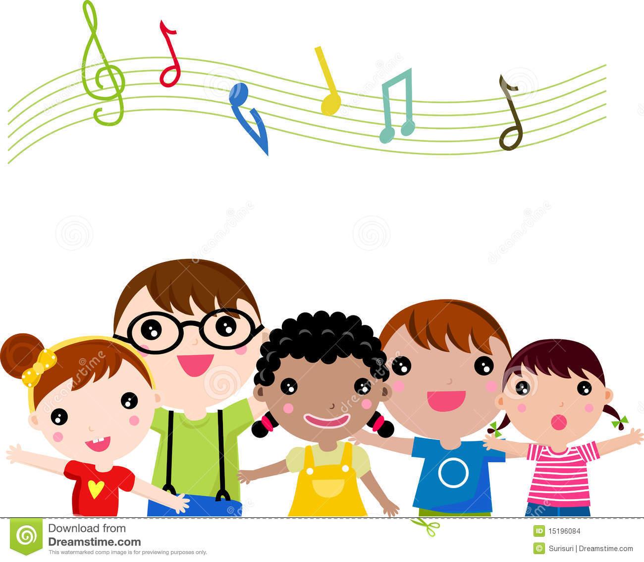 Clipart children sing together banner royalty free library 98+ Children Singing Clipart | ClipartLook banner royalty free library