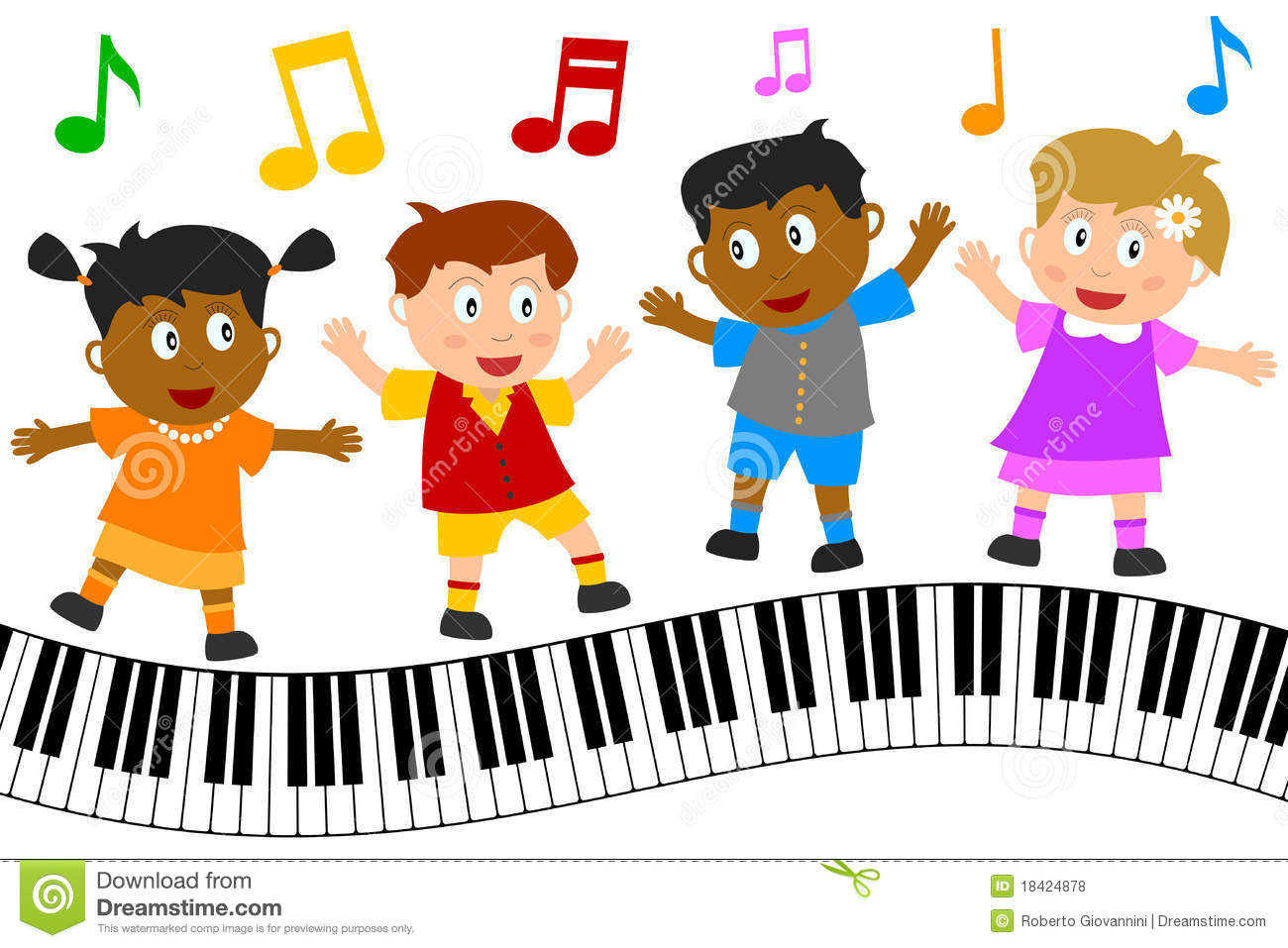 Clipart children sing together clipart transparent library Children Singing Clipart | Free download best Children Singing ... clipart transparent library