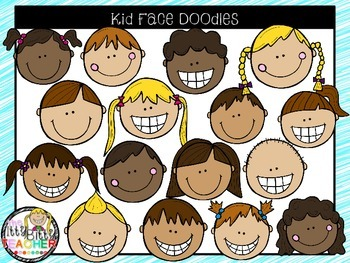 Where do you get clipart for teachers pay teachers free Clipart Kid Faces Worksheets & Teaching Resources | TpT free