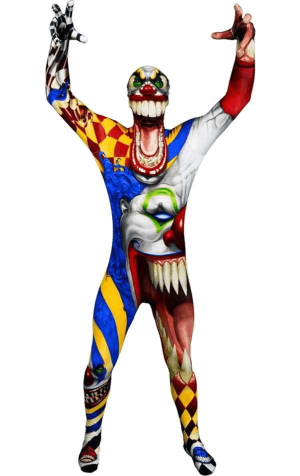 Clipart childrens halloween costumes graphic freeuse download Kids The Clown Morphsuit Costume   Jokers Masquerade™ graphic freeuse download